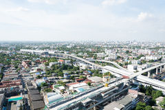 bangkok city scape Royalty Free Stock Photos