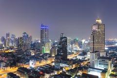 Bangkok city scape Stock Photography