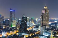 Bangkok city scape Stock Photos