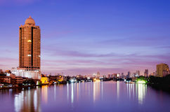 Bangkok city scape Royalty Free Stock Images