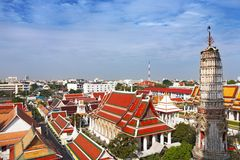 Bangkok city skyline Royalty Free Stock Images