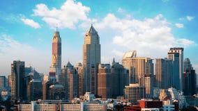 Bangkok city skyline Royalty Free Stock Image