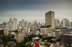 Bangkok city skyline Royalty Free Stock Photography