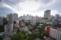 Bangkok city skyline Royalty Free Stock Photo