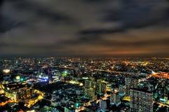 Bangkok City skyline at night Royalty Free Stock Photography