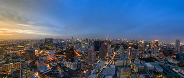 Bangkok city skyline Royalty Free Stock Photography