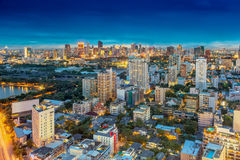Bangkok city skyline Royalty Free Stock Image