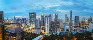Bangkok city at sunset Royalty Free Stock Image