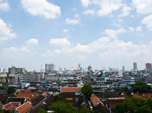 Bangkok city topview in Thailand Stock Image