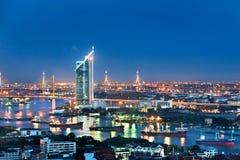 Bangkok city at twilight Stock Image