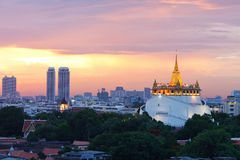 Bangkok city at twilight Stock Photography