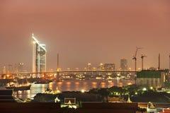 Bangkok city at twilight Royalty Free Stock Photo