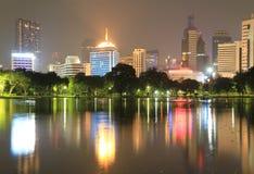 Bangkok city at twilight time Stock Photography