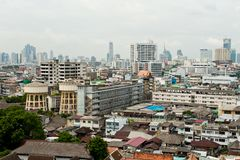 Bangkok city view Stock Images