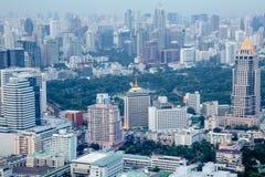 Bangkok City view from above , Thailand Stock Image
