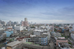 Bangkok City View in the daytime. Stock Photo