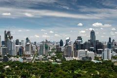 Bangkok city view and park Stock Photo