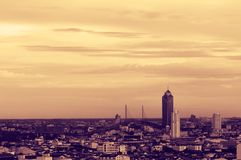 Bangkok cityscape. Royalty Free Stock Photo