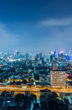Bangkok cityscape. Royalty Free Stock Photos