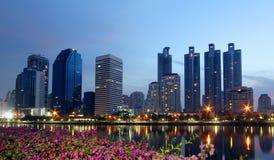 Bangkok cityscape Royaltyfri Bild