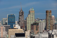 Bangkok Cityscape, Bangkok, Thailand Royalty Free Stock Photography