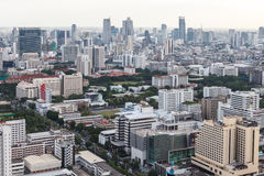Bangkok skyline, Thailand. Bangkok Cityscape, Business district with high building at dusk Stock Image