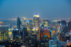 Bangkok Cityscape Stock Photography