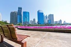 Bangkok cityscape Stock Photos