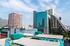 Bangkok cityscape with modern hi-tech buildings Royalty Free Stock Photos