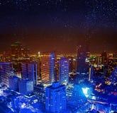 Bangkok cityscape in Thailand Royalty Free Stock Photos