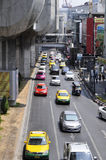 Bangkok cityscape - traffic Stock Photo