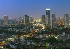 Bangkok cityscape Royalty Free Stock Photo