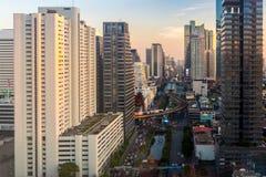 Bangkok Cityscape. View of center of bangkok cityscape ,Thailand Stock Images