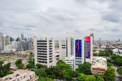Bangkok cityscape Royalty Free Stock Photography