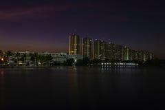 Bangkok crepuscular Fotos de archivo libres de regalías