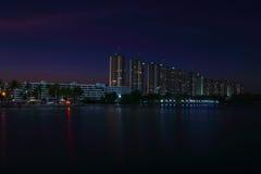 Bangkok crepuscular Fotos de archivo