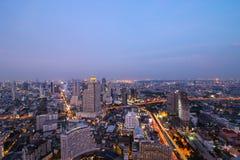 Bangkok crepuscular Fotografía de archivo libre de regalías