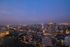 Bangkok crepuscular Foto de archivo