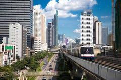 BANGKOK, CZERWIEC - 14: Transport w kapitale Tha Zdjęcia Stock