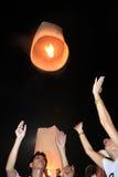 BANGKOK - 5 DÉCEMBRE : Birthday Celebration du Roi - Thaïlande 2010 Photos libres de droits