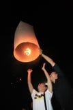 BANGKOK - 5 DÉCEMBRE : Birthday Celebration du Roi - Thaïlande 2010 Photo stock