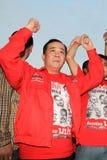 BANGKOK - 10 DÉCEMBRE : Démonstration rouge de protestation de chemises - Thaïlande Photographie stock