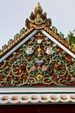 Bangkok in de abstracte bloemen van tempelthailand Stock Foto's