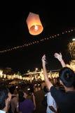 BANGKOK - 5 DE DICIEMBRE: Birthday Celebration de rey - Tailandia 2010 Imagen de archivo
