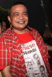 BANGKOK - 10 DE DICIEMBRE: Demostración roja de la protesta de las camisas - Tailandia Imágenes de archivo libres de regalías