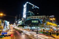BANGKOK - 4 DE DICIEMBRE: La alameda de compras más famosa de MBK en Tailandia Fotografía de archivo