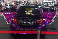 BANGKOK - 5 DE JULIO: Demostración modificada de la demostración de coche en el international de Bangkok Imagenes de archivo