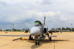 BANGKOK - 2 DE JULIO: JAS 39 Gripen Fotos de archivo libres de regalías