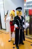 Animado japonés cosplay en el partido cómico 46.o. Imágenes de archivo libres de regalías