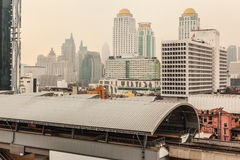 Bangkok in de ochtend Stock Fotografie